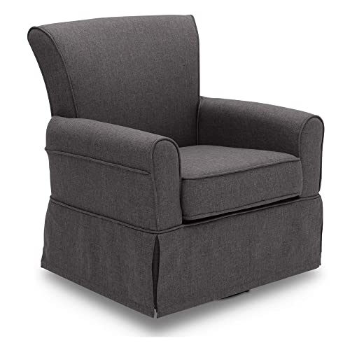 Delta Children Upholstered Glider Swivel Rocker Chair