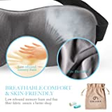 Eye Cover Sleeping Mask for Woman & Men, Patented