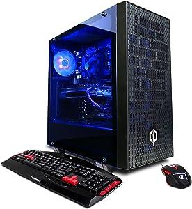 CYBERPOWERPC Gamer Xtreme GXi11000CPG w/ Intel i5-8600K 3.6GHz CPU, 8GB DDR4, NVIDIA GTX 1070 Ti 8GB, 120GB SSD, 1TB HDD, 802.11AC WIFI Adapter & Win10 64-Bit