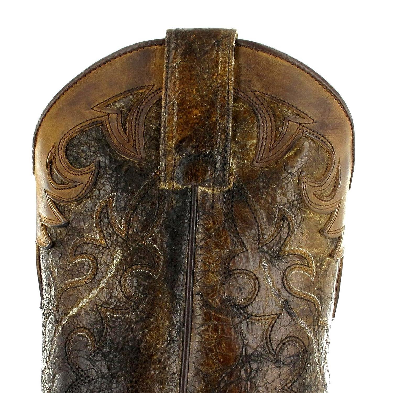 Sendra Stiefel Damen Herren Cowboy Stiefel 9669 Westernstiefel Braun Braun Braun 3d693e