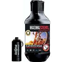Liquide Anti-Crevaison MagmaSeal 250 ml - Produit Anti-Crevaison Préventif et Réparateur - Protection Tubeless et Chambre à Air. Inclus un étui étanche.