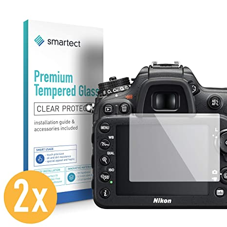 smartect Protector de Pantalla para Nikon D7200 [2 Unidades]: Amazon.es: Electrónica