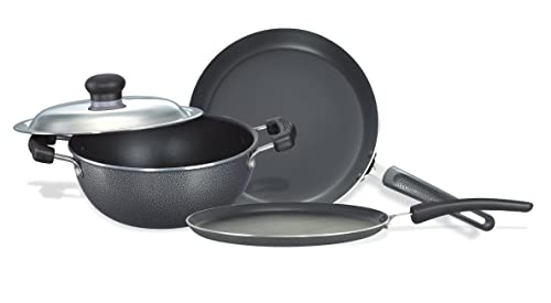 1. Prestige Omega Select Plus Non-Stick BYK Set, 3-Pieces, Gas-stove compatible only