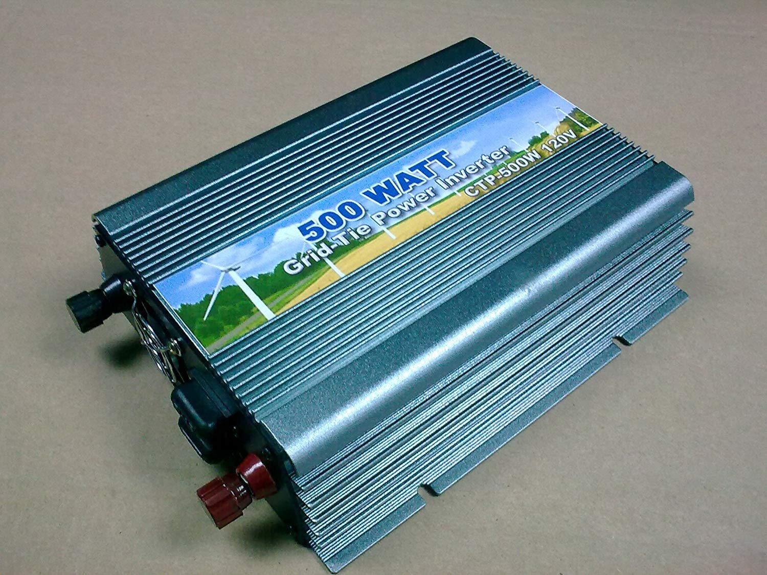 500W Grid Tie Inverter DC20-50V AC110V MPPT Power Solar Inverter OEM