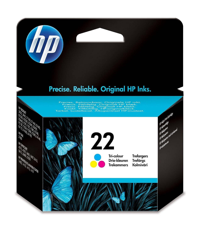 HP 22 - Cartucho de tinta original, tri-color HPC9352A