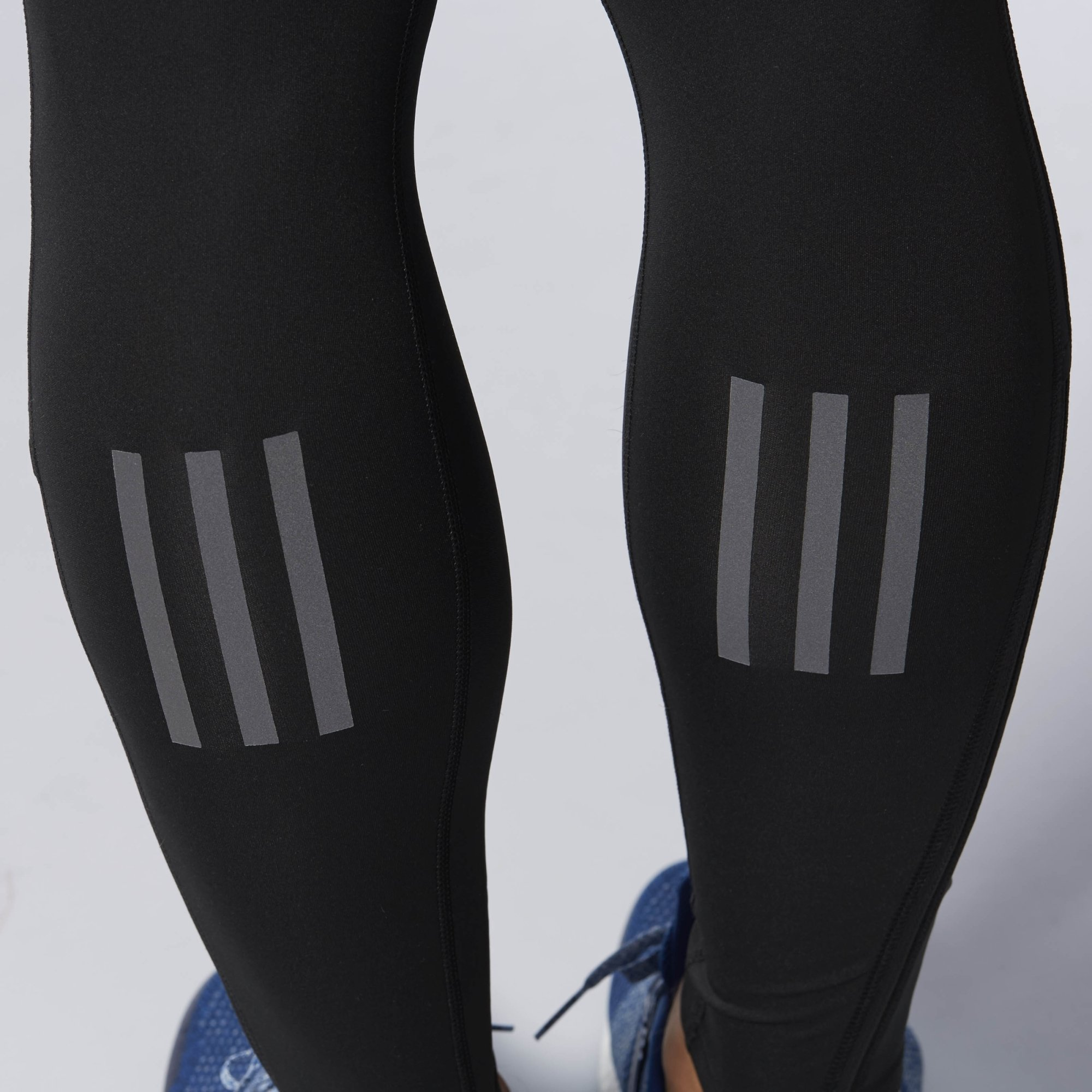 adidas Men's Running Response Long Tights, Black, Large by adidas (Image #4)