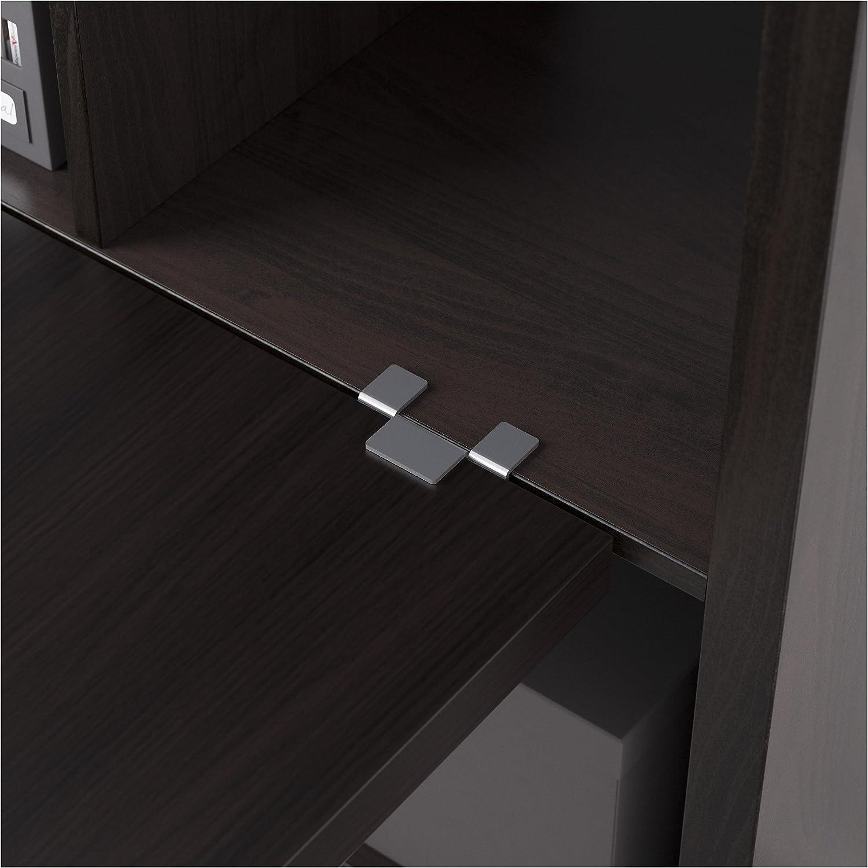 Zigzag Trading Ltd IKEA Kallax - combinación de Escritorio Negro ...