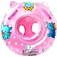 StillCool Baby Nuoto Anello Salvagente Regolabile e Gonfiabile, Anello di Nuoto per le Barche e per I Bambini, Neonati Baby (Rosa)
