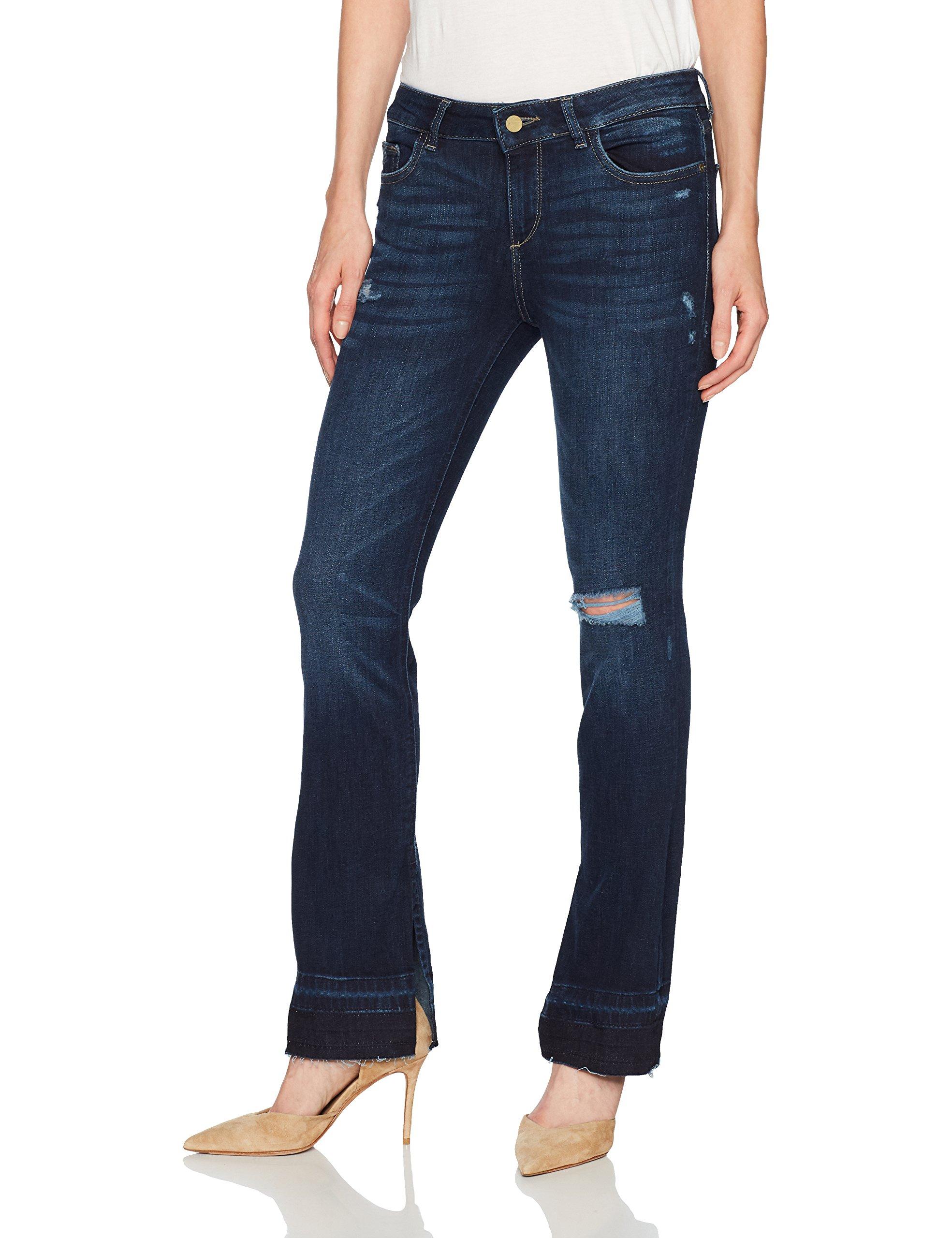 DL1961 Women's Bridget Instasculpt Bootcut Jeans, Huntington, 27