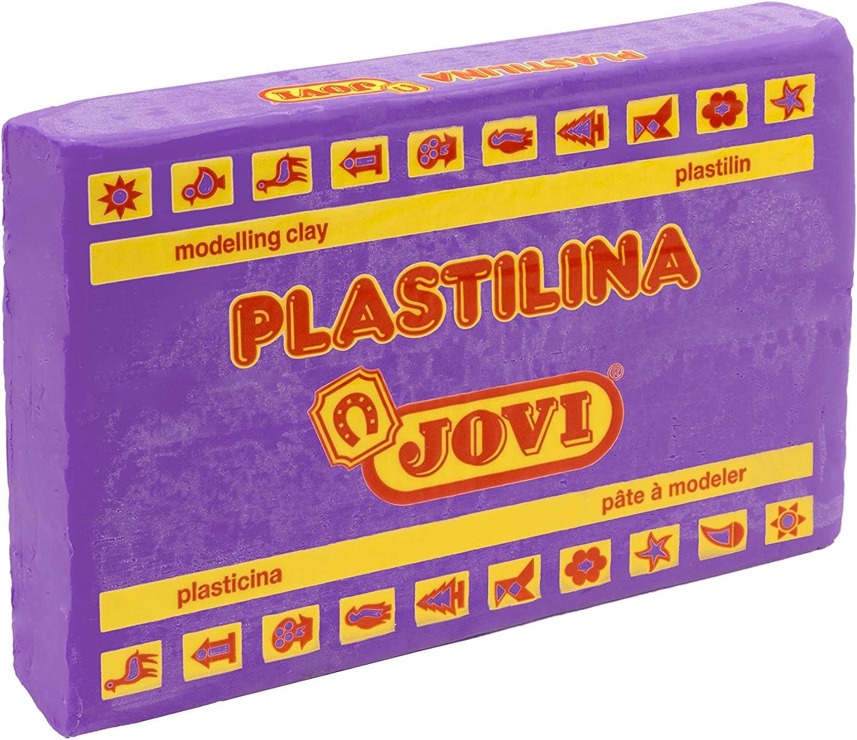Jovi Caja de plastilina, 15 Pastillas 350 gr, Color Lila (7214), Gramos: Amazon.es: Juguetes y juegos