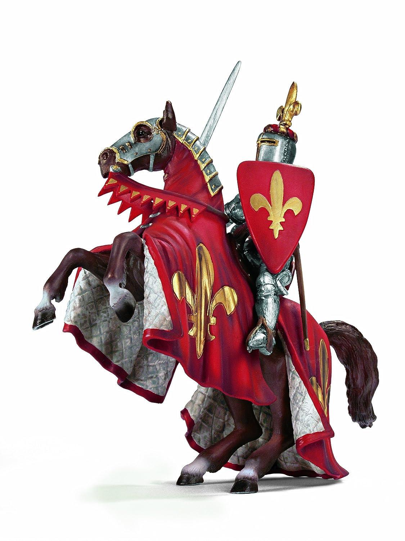 Schleich 70018  - Ritter, Fürst auf steigendem Pferd