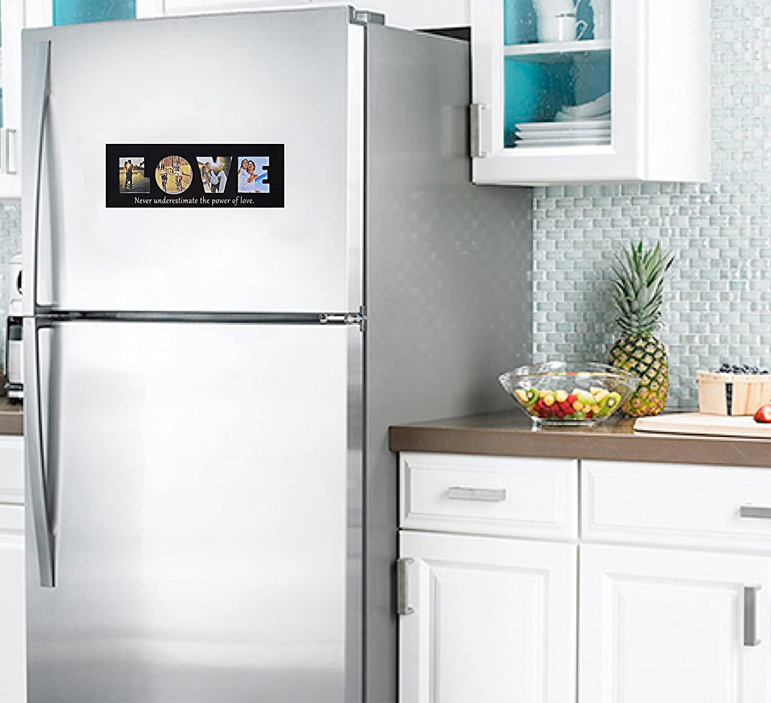 Amazon.com - FAMILY Fridge Magnets - Magnetic Picture Frame ...