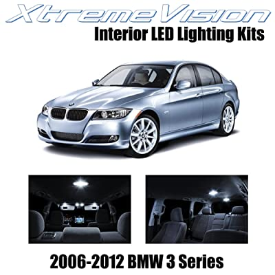 XtremeVision Interior LED for BMW 3 Series E90 E92 M3 2006-2012 (18 Pieces) Pure White Interior LED Kit + Installation Tool: Automotive
