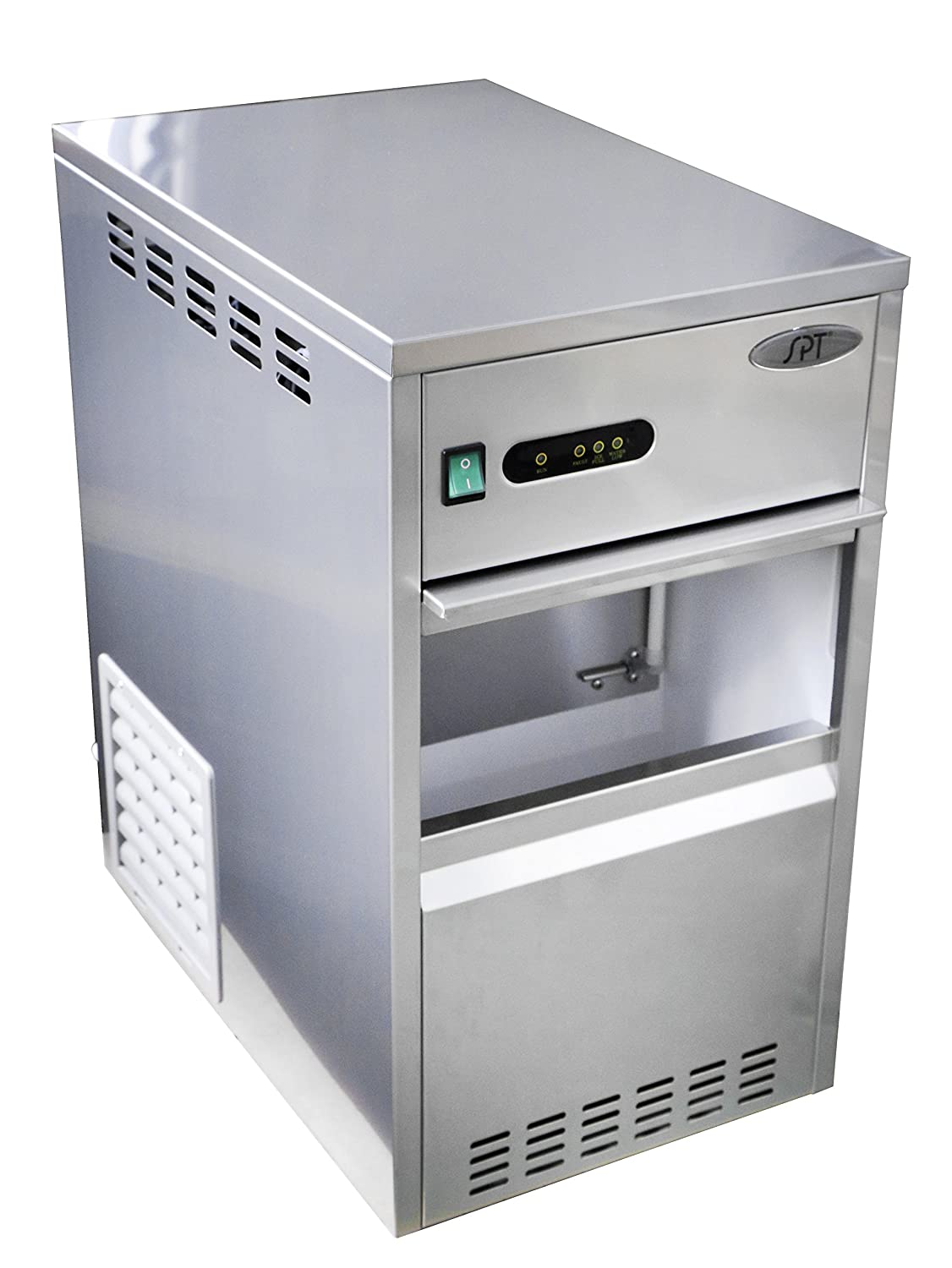SPT SZB-40 Automatic Flake Ice Maker - 88-lb, Stainless Steel