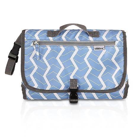 d33c44007 Rovtop Cambiador Portátil de Pañales para el bebé Kit Cambiador de Viaje  bolso plegable de viaje ...