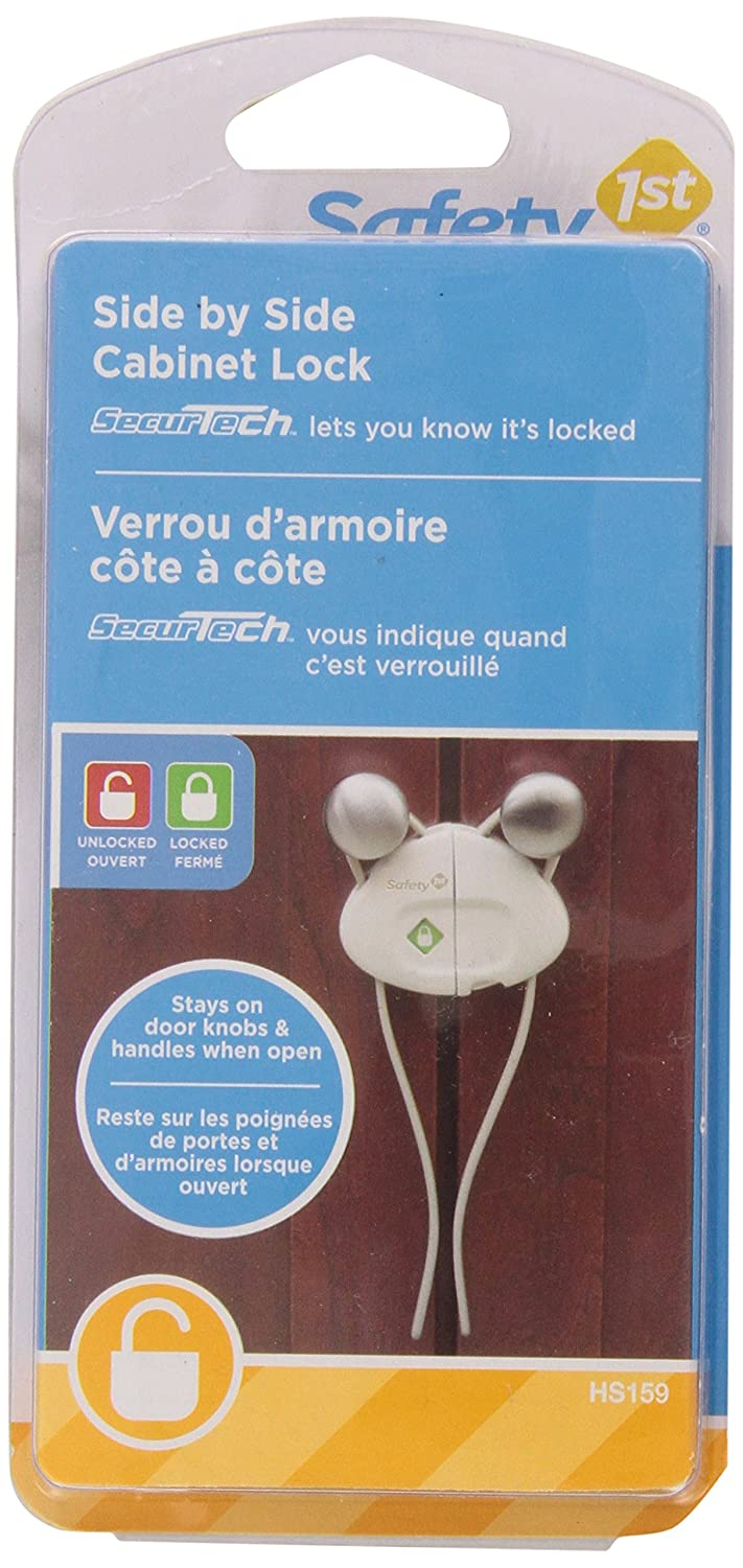 Safety 1st 00HS159 Push 'n Snap Cabinet Lock: Amazon.ca: Baby