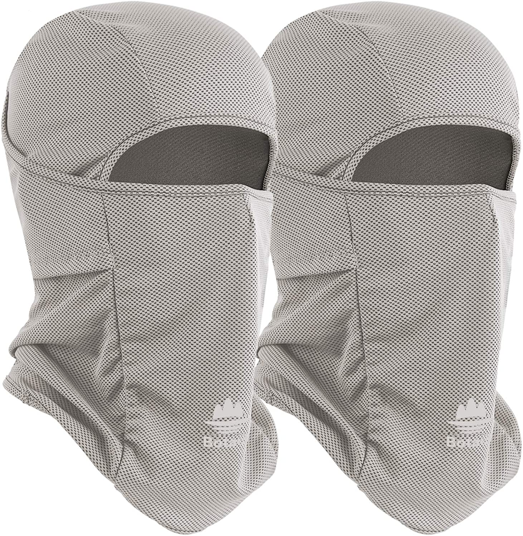 Botack Balaclava UV Protection Dustproof Breathable Helmet Liner Mask Head Sock for Dust Wind Cold Men Women