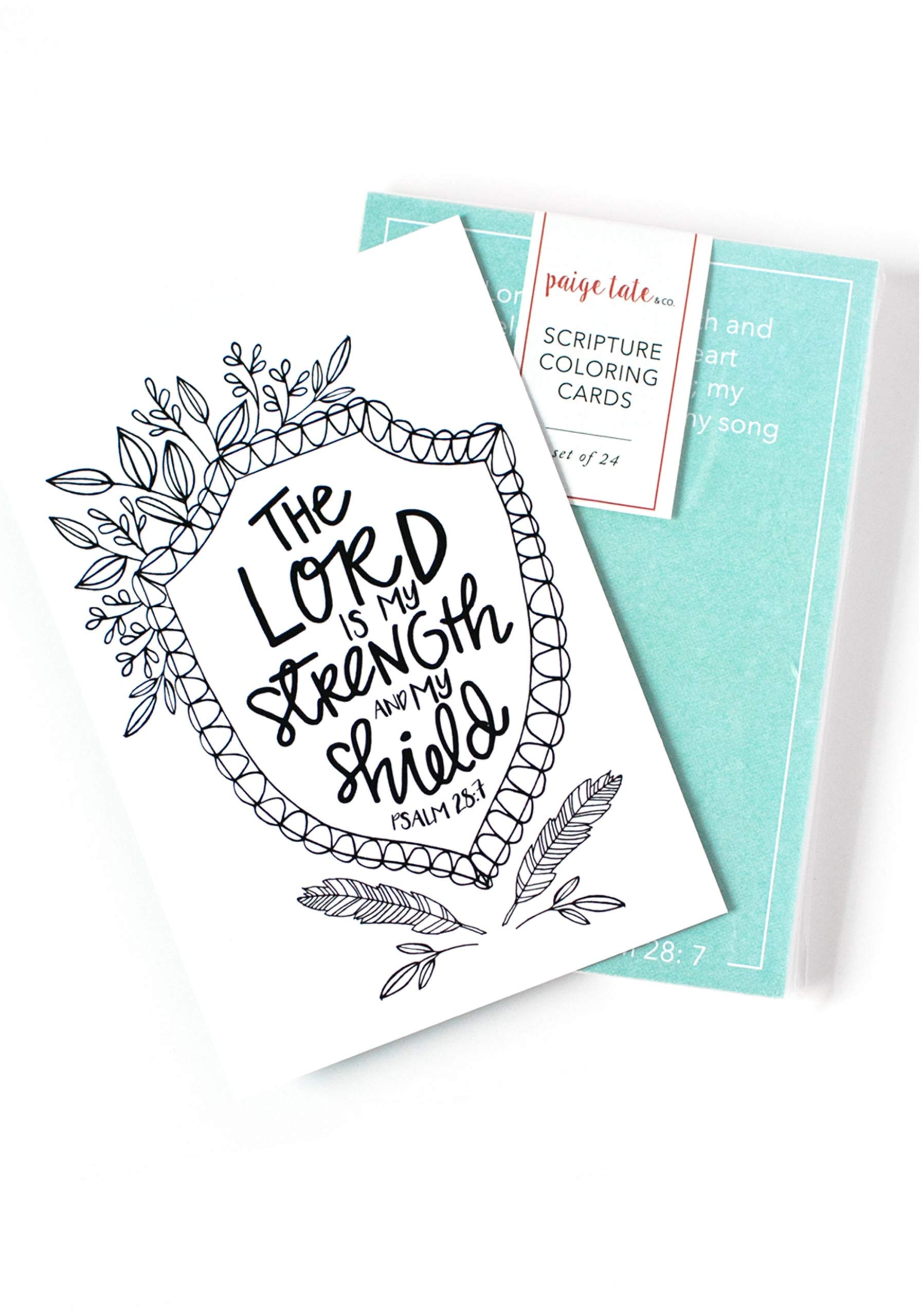 - Amazon.com: Scripture Coloring Cards: Color, Share, And Inspire