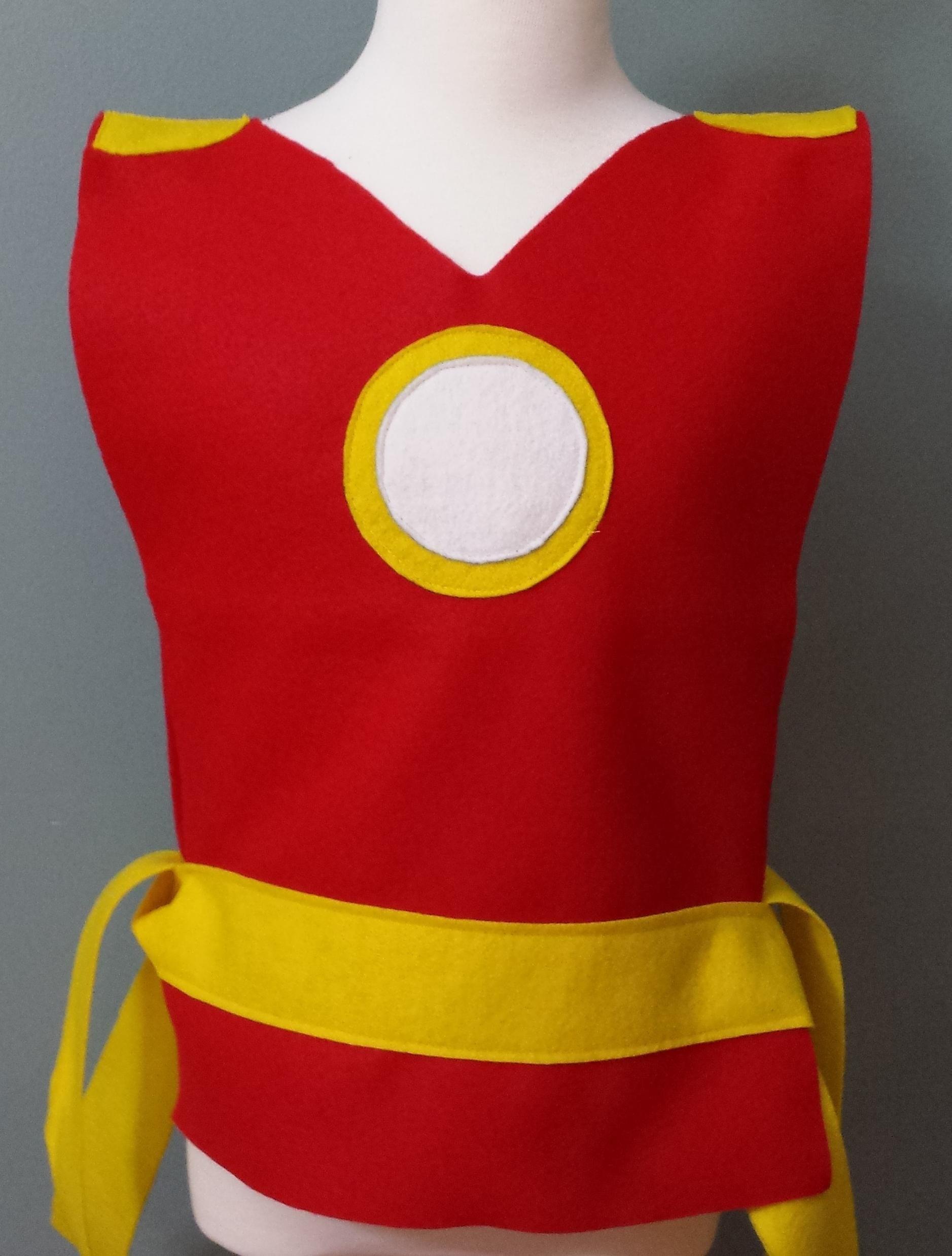 Kids Ironman Costume Tunic (Avengers/Marvel) - Baby/Toddler/Kids/Teen/Adult Sizes