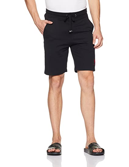 US Polo Association Men's Cotton Lounge Shorts Men's Lounge Shorts at amazon