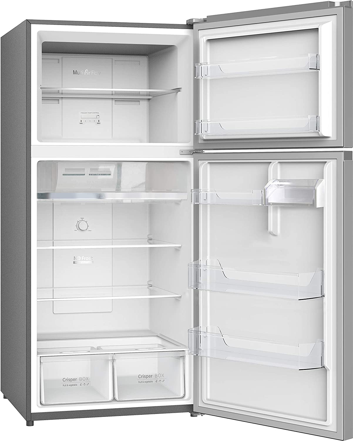LG 547 L 3 Star Wi-Fi Inverter Frost-Free Double Door Refrigerator (GN-H702HLHQ, Shiny Steel)