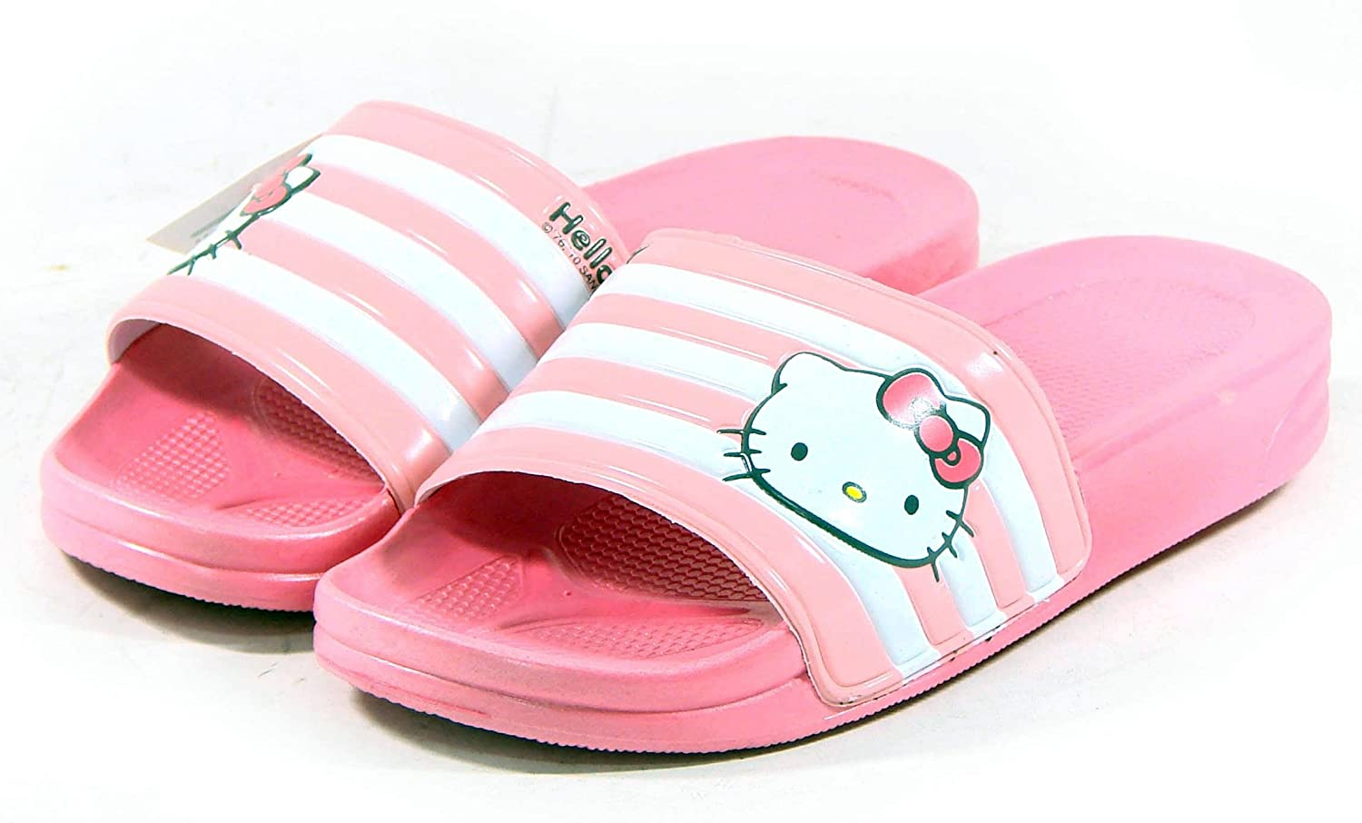 Hello Kitty Shoes Amazon.com: Hello Kitty LALA Lovely Womens Summer Slippers Shoes Beach Pool  Pink US size 6: Beauty