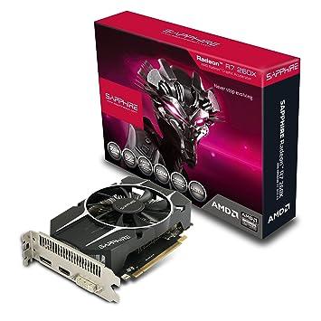 Sapphire PCI Express R7 260X 2GB Graphics Card (OC GDDR5, HDMI, DVI, DP, 2S)