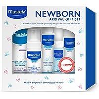 Mustela - Set de regalo para recién nacido, para el baño de bebés y para el cuidado de la piel, 5 unidades