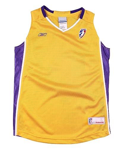 b620f36b9e0 Los Angeles Sparks WNBA Youth Big Girls Blank Basketball Jersey - Gold  (Small (7