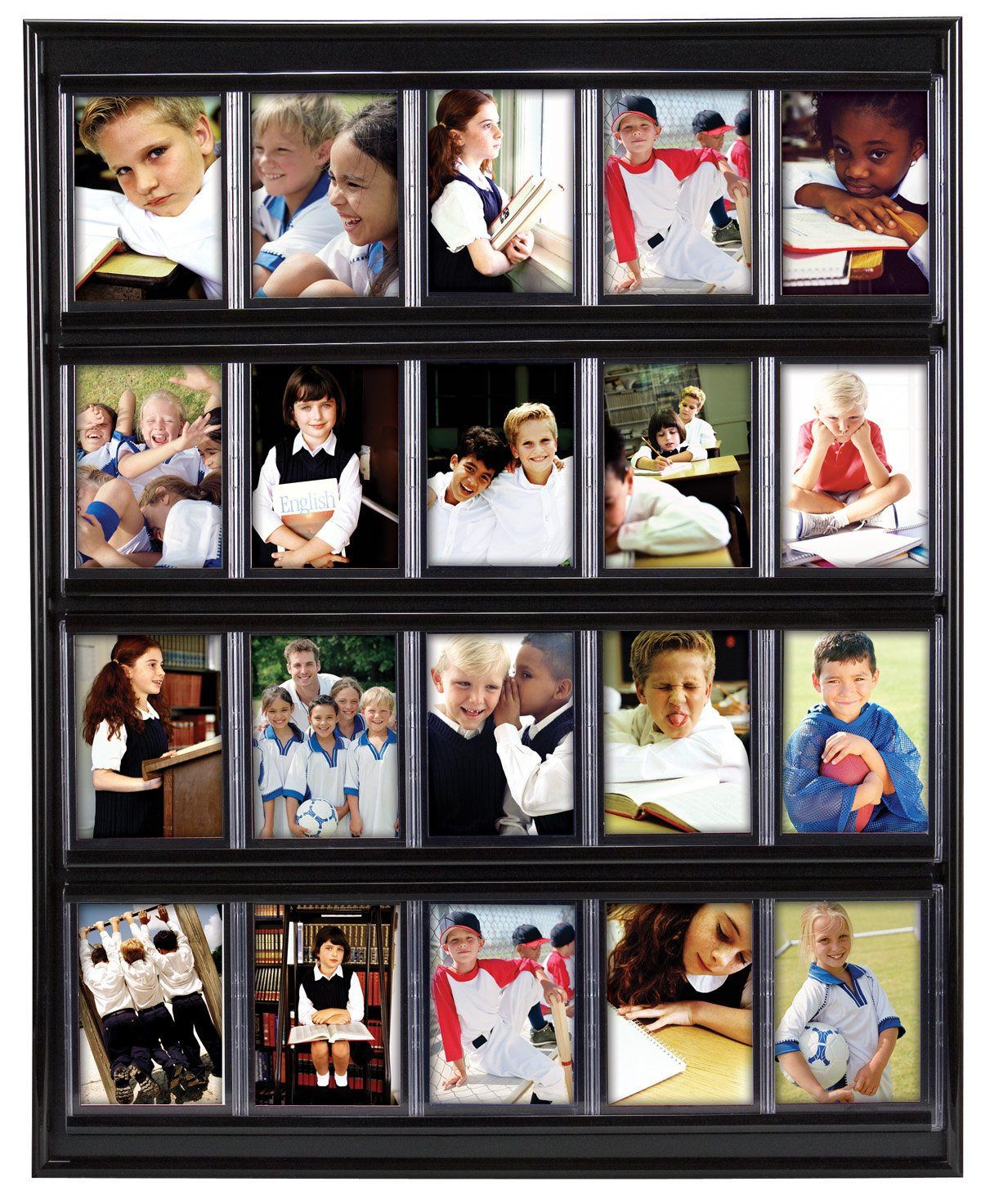 Amazon.com - MCS 16x20 Inch Collector Card Wall Display, Holds 20 ...