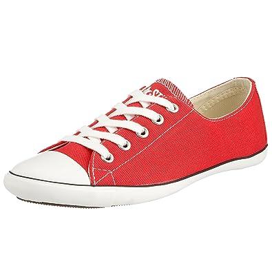 588d79f792655 Converse All Star Light Ox 511533, Damen Sneaker, Rot (Red/White ...