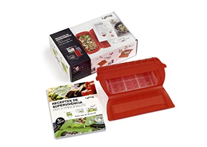 Amazon.com: Lékué Steam Case with Tray, 1 – 2 People + ...