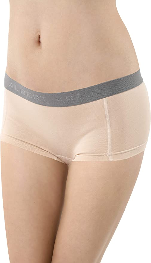 ALBERT KREUZ Braga Culotte Boxer Invisible Mujer de algodón ...