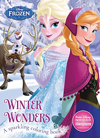 Winter Wonders Coloring Book Disney Frozen Color Fun Parragon Books Ltd 9781474821469 Amazon