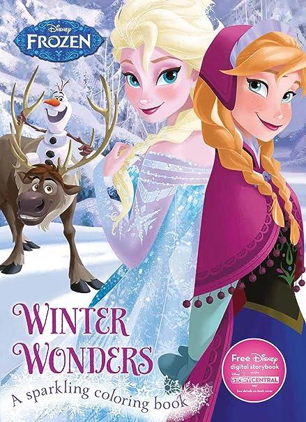 Winter Wonders Coloring Book (Disney Frozen ) (Color Fun!): Parragon ...