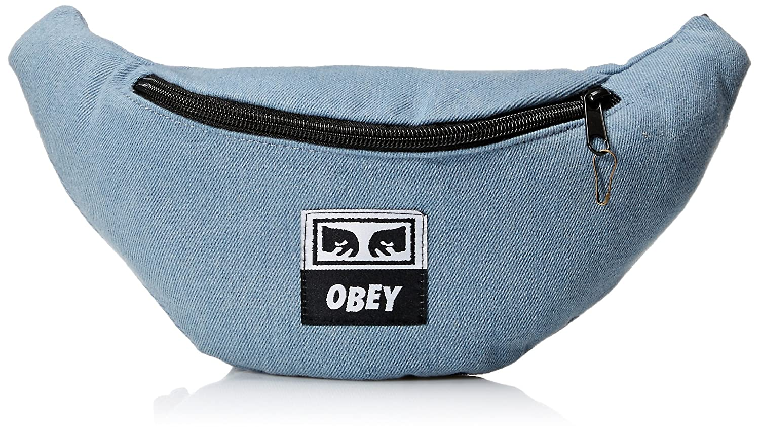 Obey Mens Wasted Hip Bag Denim ONE SIZE 100010098