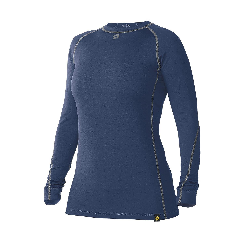 DeMariniレディースComotionスイングスリーブシャツ B00OWDJAAC Medium ネイビー ネイビー Medium