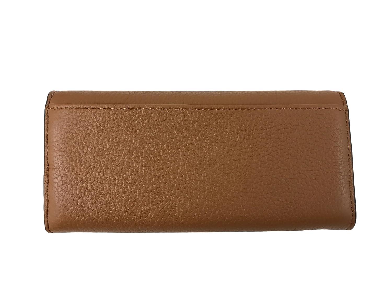 03edce6e4d030f Michael Kors Jet Set Slim Flap Pebbled Leather Wallet Acorn at Amazon  Women's Clothing store: