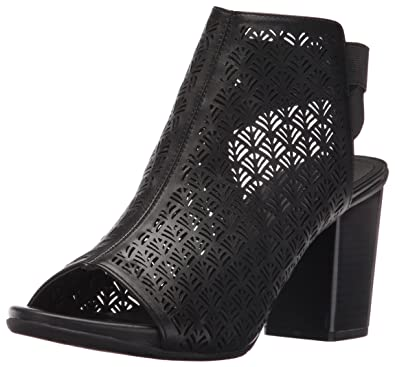 Kenneth Cole REACTION Women's Fridah Fly 2 Ankle Bootie, Black, ...