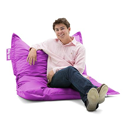 Astounding Big Joe 0640624 Original Bean Bag Chair Radiant Orchid Smartmax Pabps2019 Chair Design Images Pabps2019Com