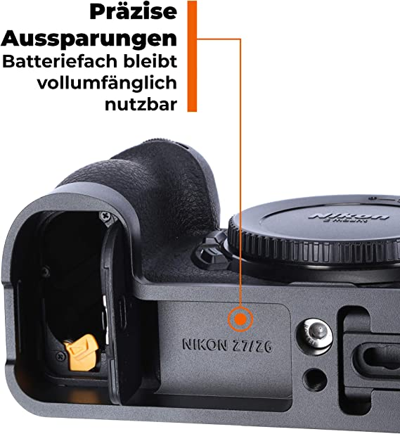 Rollei L Bracket Für Nikon Z6 Kamera