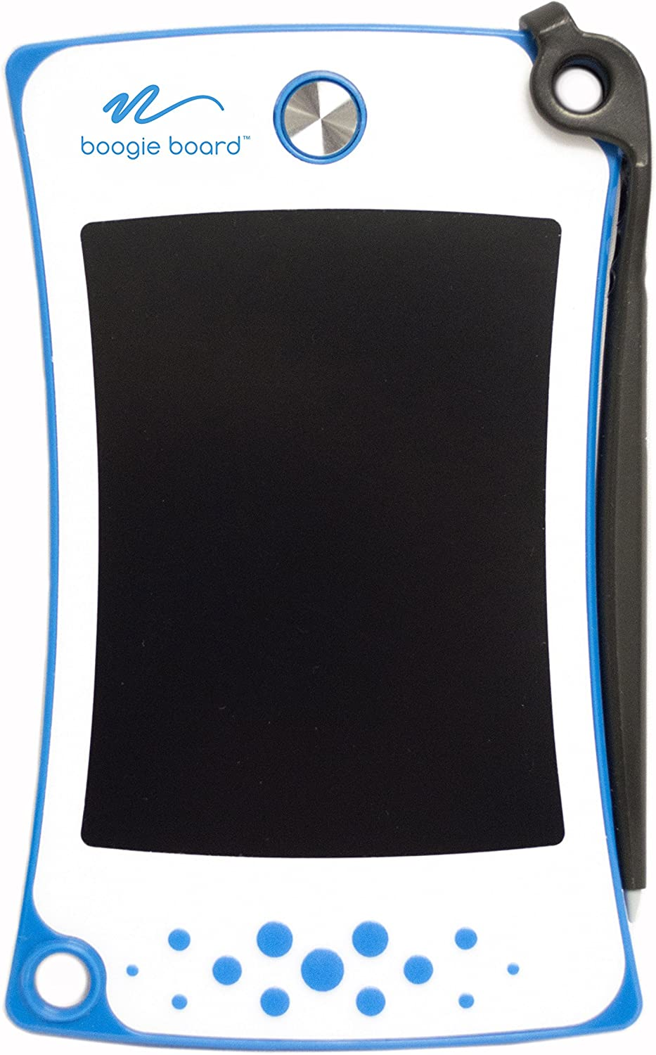 Boogie Board Blue Jot 4.5 LCD Writing Tablet - Authentic Boogie Board that Includes eWriter and Stylus Pen