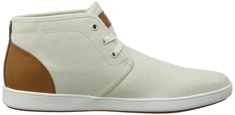 Steve Madden Ferrin Sneaker, Zapatillas Altas para Hombre, Beige (Beige 01019), 40 EU