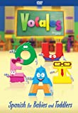 Spanish DVD - Video For Kids Children Babies Toddlers - Start learning the Spanish language for children 5 years old and under.