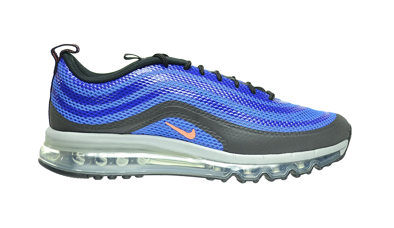 premium selection cf830 a22ab Amazon.com   Nike Air Max 97-2013 Hyp Men s Shoes Hyper Cobalt Bright  Mango-Black 631753-402 (11.5 D(M) US)   Athletic