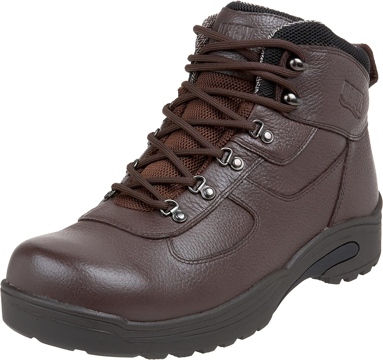 Drew Shoe Men s Rockford Boot,Dark Brown,15 4W US