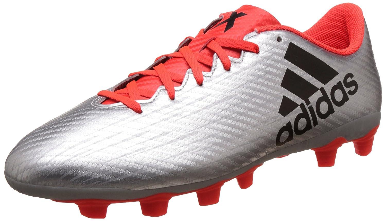 Adidas Herren X 16.4 Fxg Fußballschuhe, silberfarben, UK