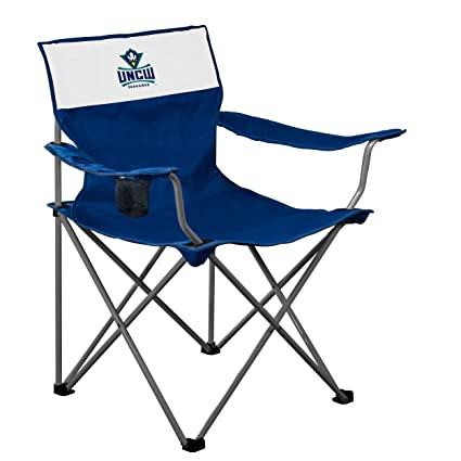 Surprising Amazon Com Logo Brands Ncaa Unc Wilmington Mavrik Folding Machost Co Dining Chair Design Ideas Machostcouk