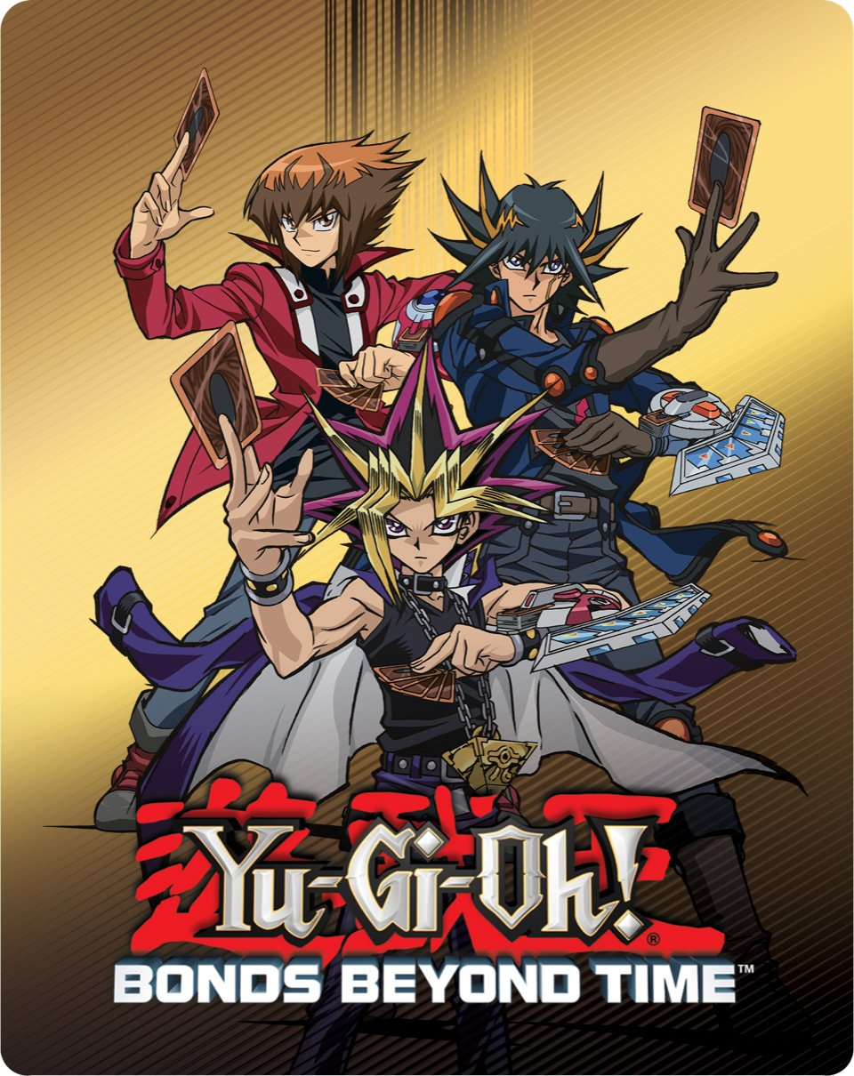 Yu-Gi-Oh! Bonds Beyond Time (Steelbook, Widescreen, Subtitled, Dubbed)