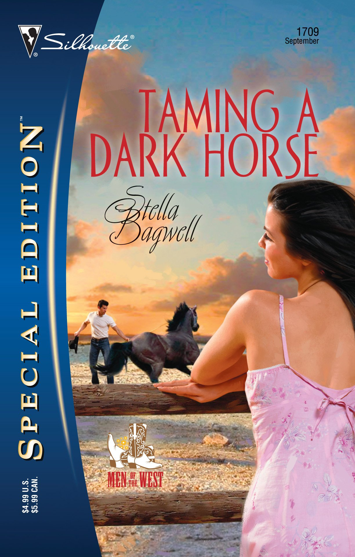 Taming a Dark Horse (Silhouette Special Edition) (Men Of The West)
